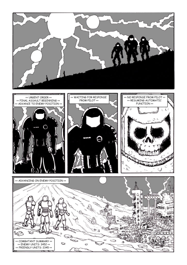 The Dead War: Page 1